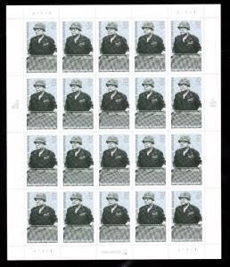 Benjamin O. Davis Sc 3121 32¢ Sheet of 20    MNH