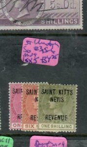 ST CHRISTOPHER (P1812B) QV REVENUE SG R3, 5-6 MOG  ANTIQUE OVER 100 YEARS OLD