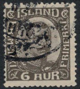 Iceland #113  CV $9.50