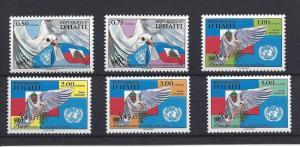 Haiti, 866-71, United Nations - 50th Singles,**MNH**
