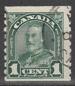 #179 Canada Used George V coil