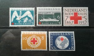 Netherlands #B321-25 mint hinged e1912.5751