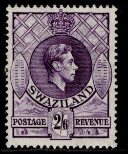 SWAZILAND GVI SG36a, 2s 6d violet, NH MINT. Cat £32.