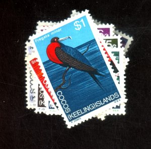 COCOS ISLANDS #8-19 MINT F-VF OG NH Cat $11