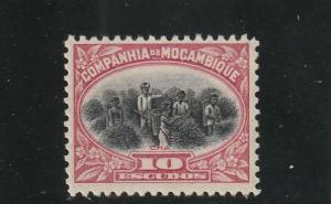 Mozambique Company  Scott#  160  MH