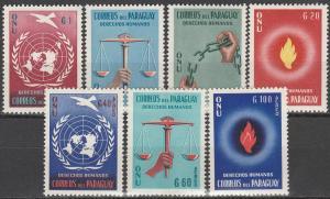 Paraguay #565-8, C269-71 MNH VF CV $2.75 (V3984)
