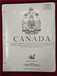 Canada Album Pages Minkus Stamp Collecting 1851-1992 incl Provinces