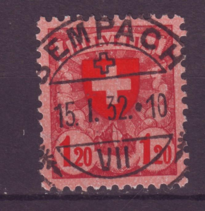 J12643 JLstamps 1924 switzerland part of set used #201 cross