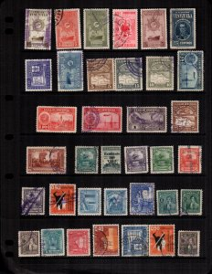 Venezuela  35  different mint hinged and used