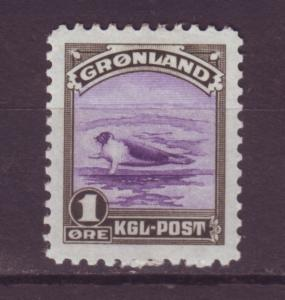 J16567 JLstamps 1945 greenland mh #10 harp seal