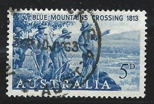 Australia  used s.c.# 355