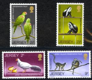 Jersey Sc# 49-52 MH 1971 Wildlife Preservation