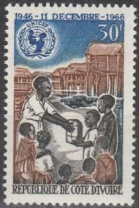 Ivory Coast #250  MNH F-VF (V458)