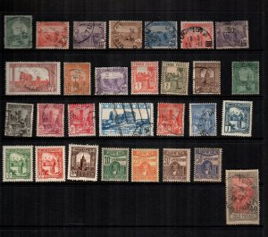 Tunisia  28  diff used and mint lot collection
