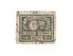(I.B) Australia - South Australia Revenue : Cattle Duty 6d