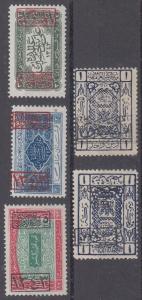 Saudi Arabia Scott L168,L173,L174,LJ12,LJ28 Mint NH