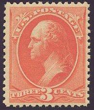 US Scott #214 Mint, FVF, NH