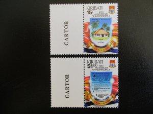 Kiribati #515-16 Mint Never Hinged (M7N4) - Stamp Lives Matter! 2