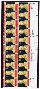 2415 Plate Block Strip of 20