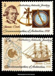 Australian Antarctic Territory Scott L21-L22 Mint never hinged.