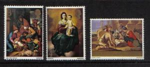 Great Britain 1967 MNH Christmas foals mares complete