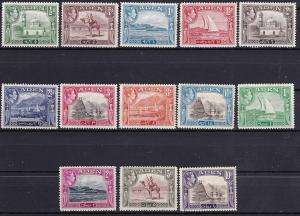 Aden 1939-48 King George VI Scenes Scott 16-27a MH