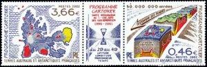 Scott #311 Cartoker Program MNH