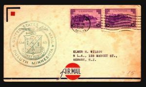 US 1940 AM45 First Flight Cover - Z15808