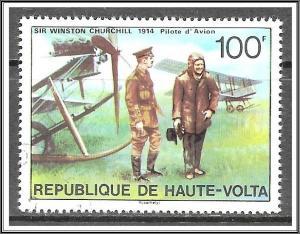 Upper Volta #348 Winston Churchill Issue CTO