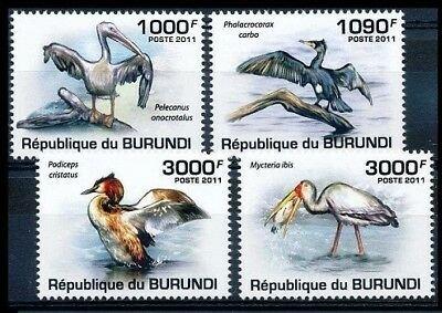 Burundi MNH Set Of Water Birds 2011 SCV 13.50