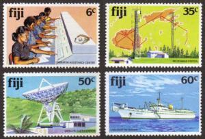 Fiji #445-48 MNH cpl telecom