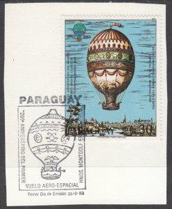 Paraguay, Sc 531 (3), Used, 1983, Adorne;s 1784