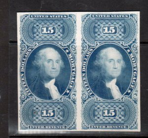 USA #R97eP4 Extra Fine Plate Proof Pair On Card As Issued
