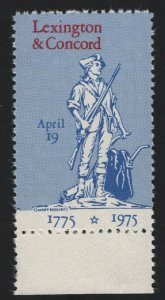 United States - 1975 Bi-Centennial of Lexington Concord -  BARNEYS