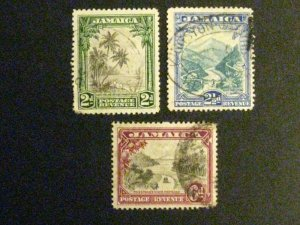 Jamaica #106-8 used  a198.9482