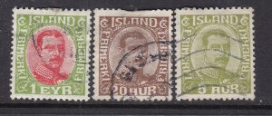 ICELAND ^^^^^^ x3    better  used CLASSICS    $$@ ta 423ice