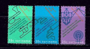 Surinam 385-87 MNH 1971 set