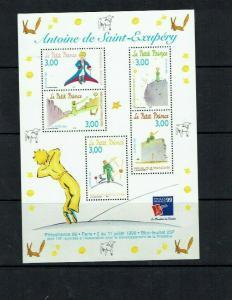 France: 1998, PhilexFrance 99, 'The Little Prince' Miniature Sheet, MNH