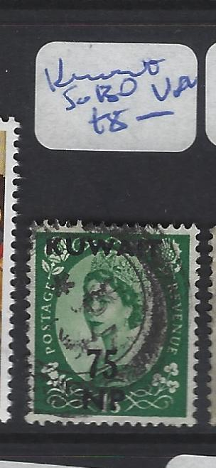 KUWAIT  (P2409B)  QEII ON GB  SG 130  VFU