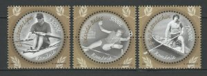 Romania 2004 Olympic Games medal winners - Athens 3 MNH stamps