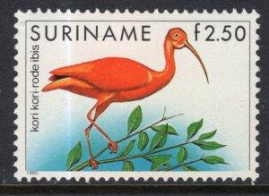 Suriname 727 Bird MNH VF