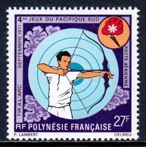 French Polynesia - Scott #C76 - MLH - SCV $12