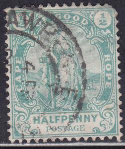 Cape of Good Hope 59 USED 1898 Hope Standing