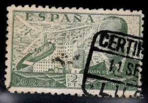 SPAIN Scott C114 Used Autogiro Airmail  stamp