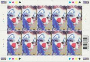 2002 Europa Cept Malta Sheetlet 'Circus' MNH