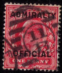 GB Scott #O79  KEVII Admiralty Official F-VFCat.$ 24.00