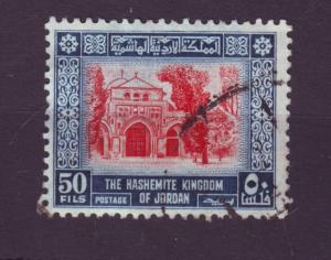 J8737 JLs stamps @20% 1954 jordan used #314 mosque