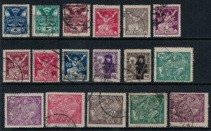 Czechoslovakia #65-81  CV $4.85