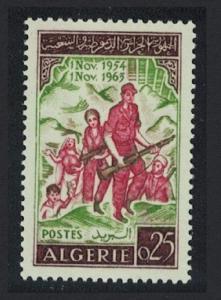 Algeria 9th Anniversary of Revolution 1v SG#418