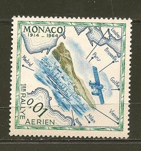 Monaco 565 1914 Rally Postcard Issue MNH